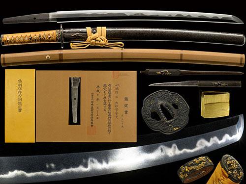 大和守安定 脇差 特別保存刀剣