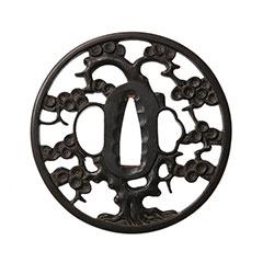 古奈良 松樹透鍔 特別保存刀装具