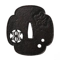 銘 明珍紀宗鍔 特別保存刀装具