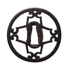 尾張 四方琴柱透鍔 特別保存刀装具