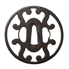 法安 四方蕨文透鐔 特別保存等装具