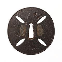 古甲冑師 四方楕円透鍔